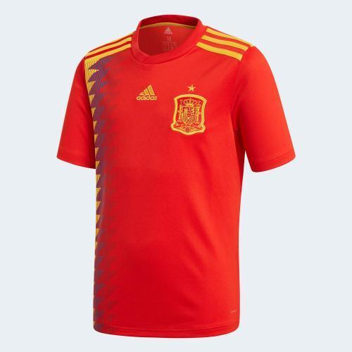 Španělsko Národní tým Světový pohár 2018 home Kit Exposure