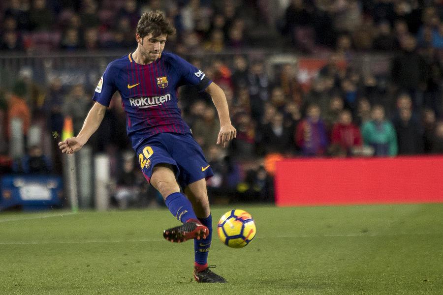 Barcelona s Sergi Roberto carnicer smlouva termín je do roku 2022 rok