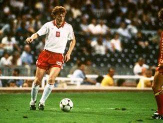 První fotbalovou hvězdou Polsko národního týmu je Zbigniew Boniek