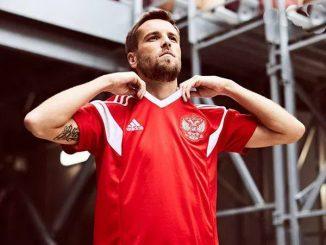 Rusko národní tým mistrovství světa 2018 dres