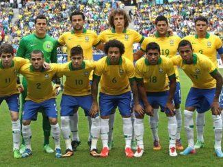 2002 Brazílie tým úzce vstoupil do světového poháru